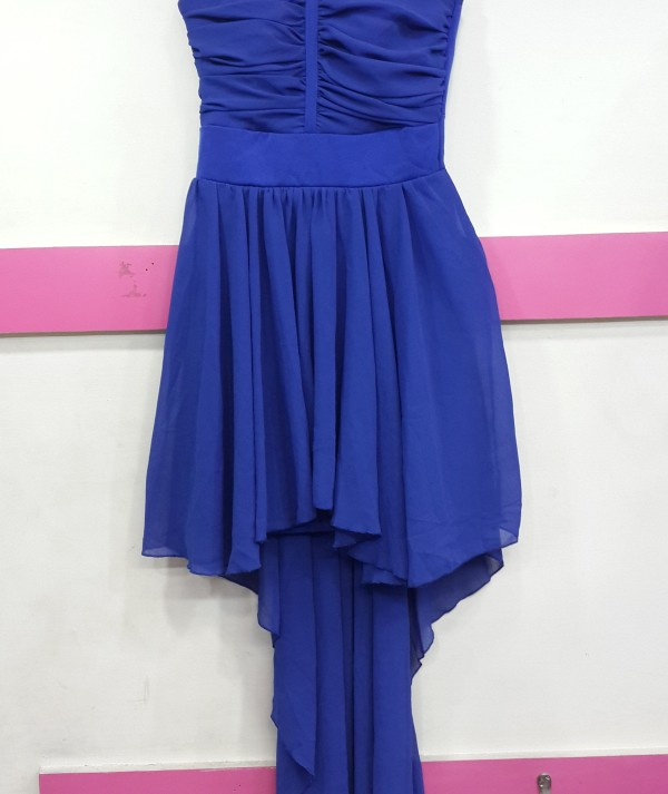 Woman High Low Dress