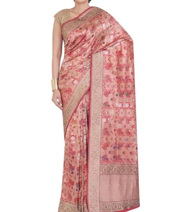 Antique Banarasi Silk Saree