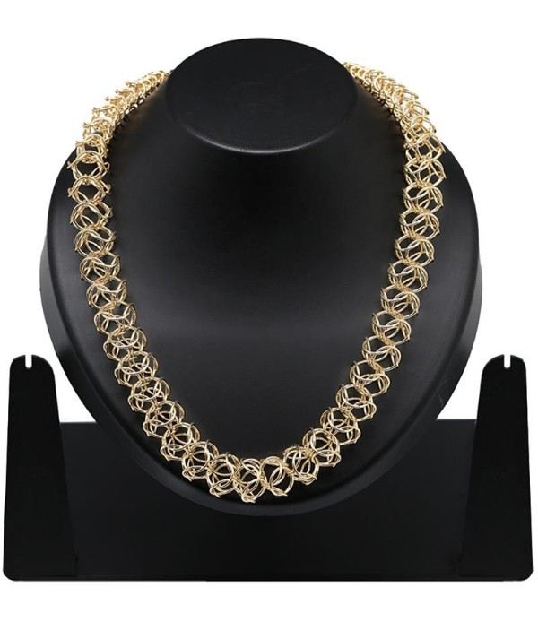 Golden Party Wear Necklace Set