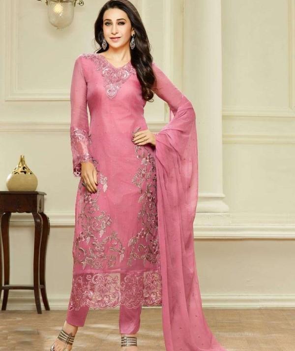 Ethnic Light Pink Salwar Suit