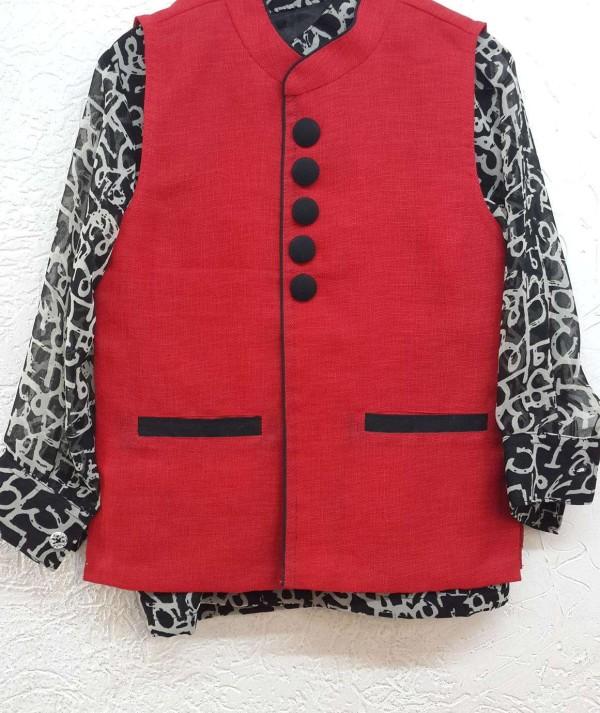 Boys Fancy Kameez Jacket
