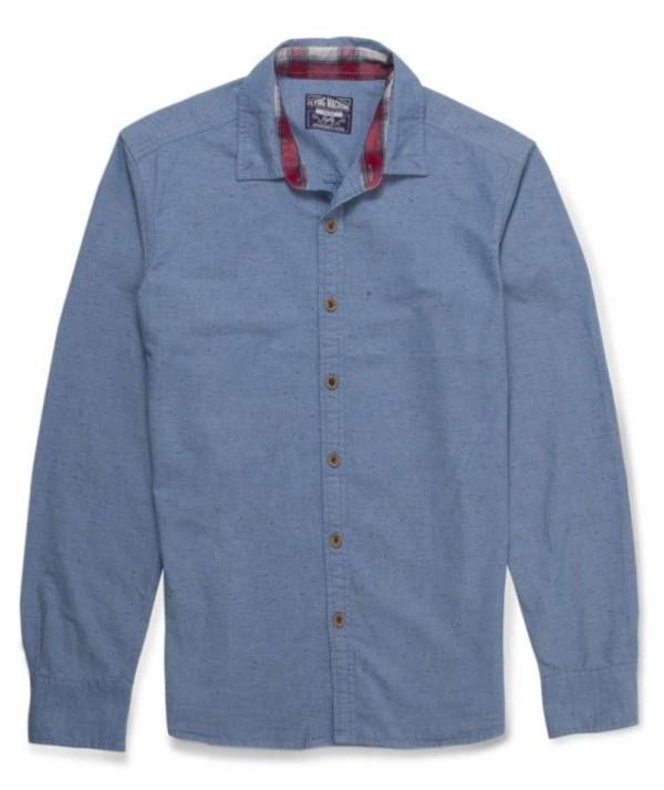 Cotton Slub Mens Shirt