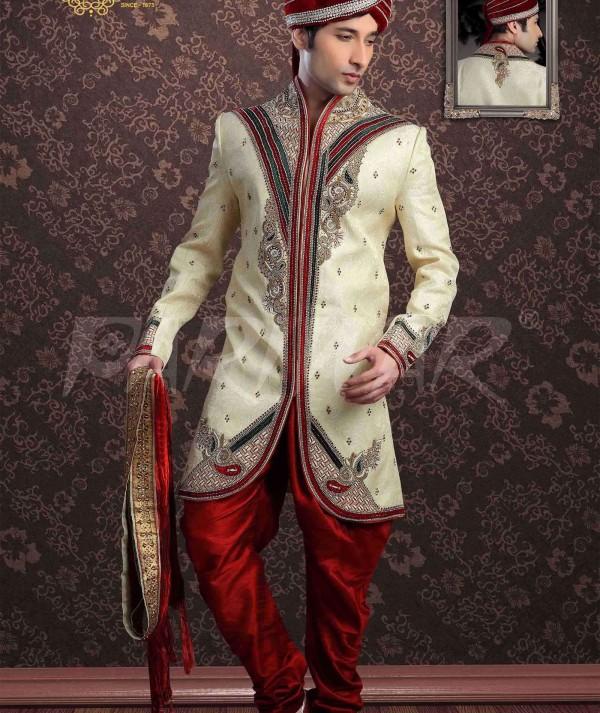 Luxurious Jacquard Sherwani