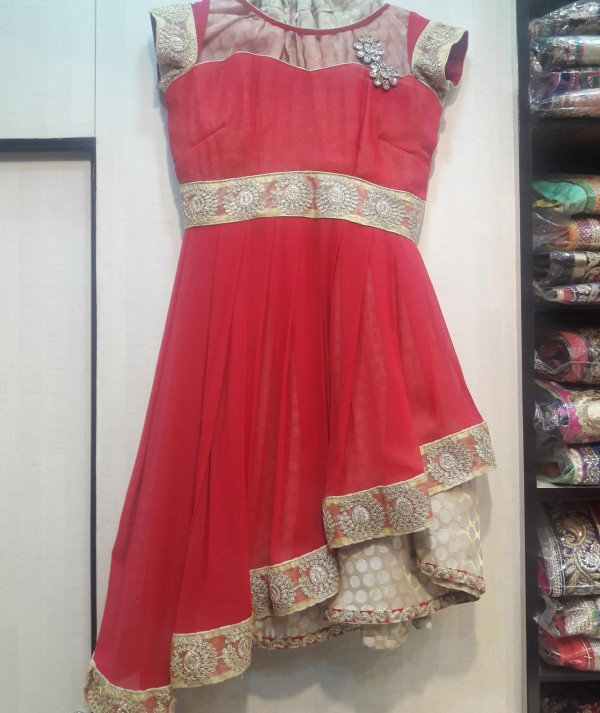 Fancy Kurti With Skirt