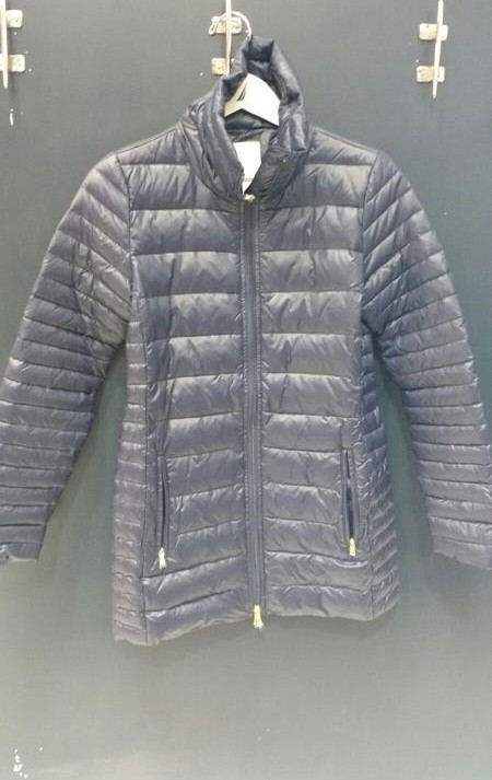 Nylon Jacket Filled With Waterfowl And Down Feathers