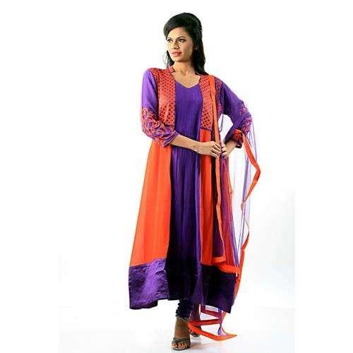 Beautiful Long Length Georgette Suit