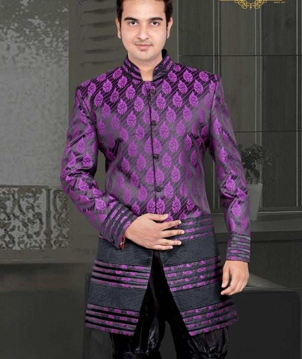 Marvelous Look Indo Western Sherwani