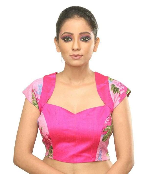 Designer Pink Blouse
