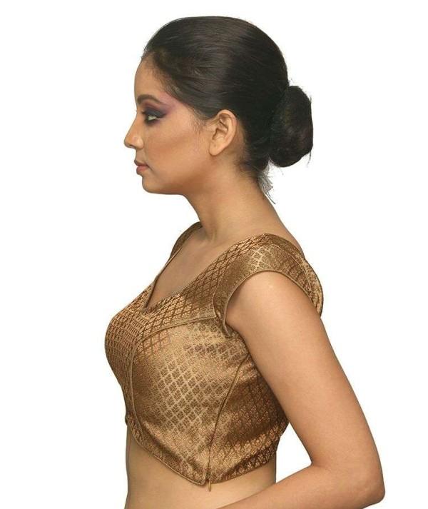 Designer Golden Blouse