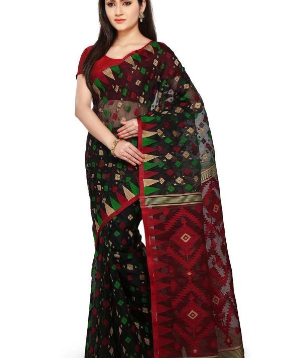 Jamdani Handloom Saree