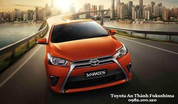 Toyota Yaris 2015 Phien ban hieu suat cao manh me nhat