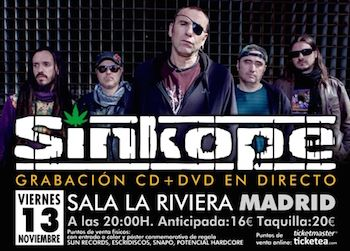 Invitados Sínkope Madrid