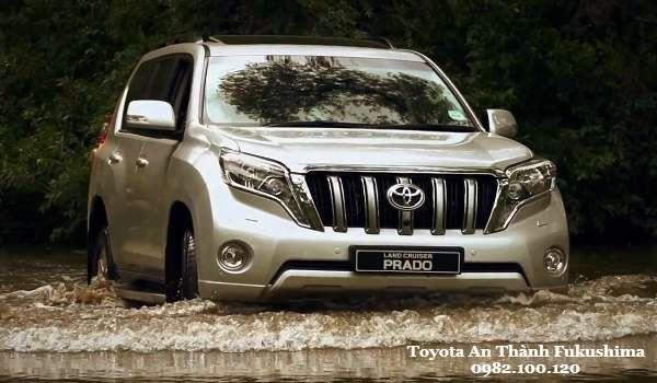 Toyota Land Cruiser Prado 2016 Van hanh manh me on dinh