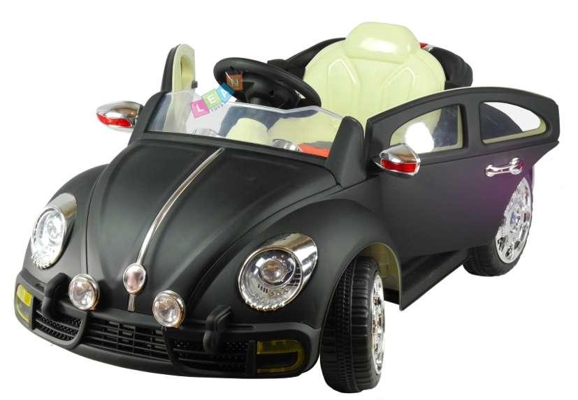 kinderelektroauto elektroauto beetle lackiert zwei motoren. Black Bedroom Furniture Sets. Home Design Ideas