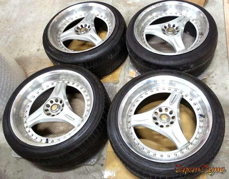 VOLK RAYS C-ULTRA 18 10J 5x114 Rims Alloy Wheels R32 R33 R34 GTR