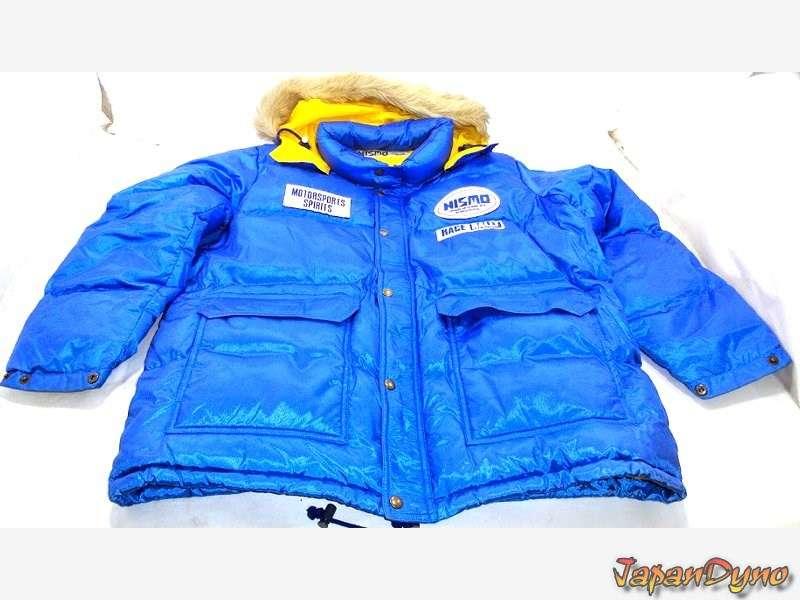 NISMO Motorsport rally Vintage/Retro Down coat jacket from 1991