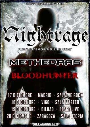 nightrage, bloodhunter, methedras cartel giral