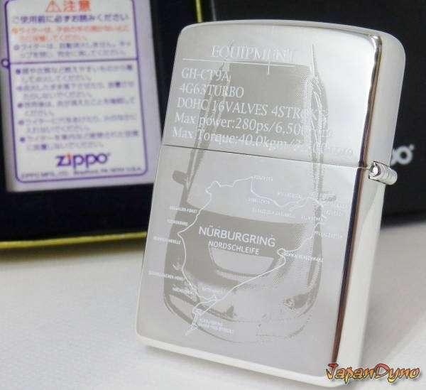 Zippo lighter Mitsubishi Lancer Evolution EVO 8 VIII CTA9 4G63