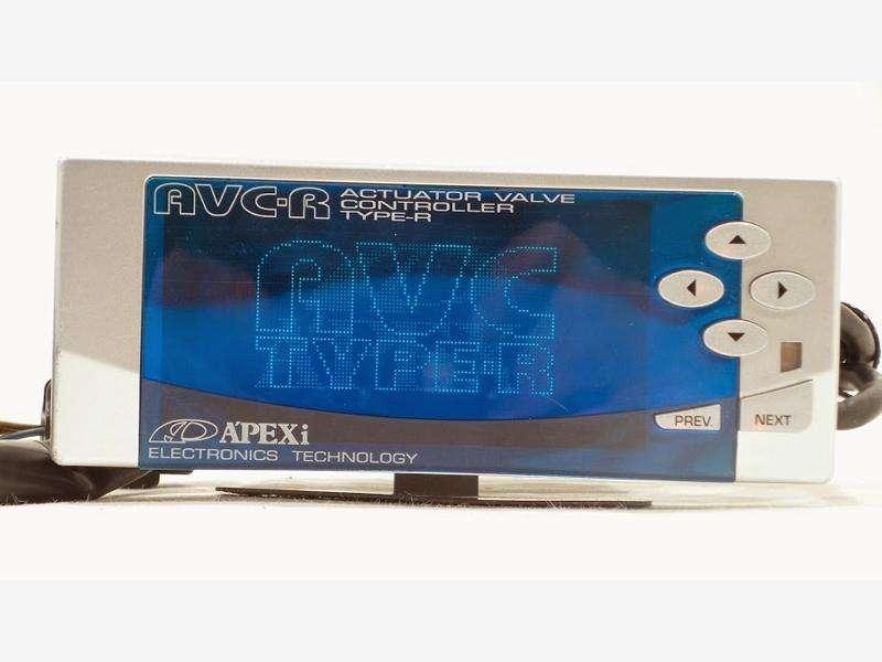 APEXI AVCR AVC-R 3 Boost controller blue screen R33 R34 S14 S15