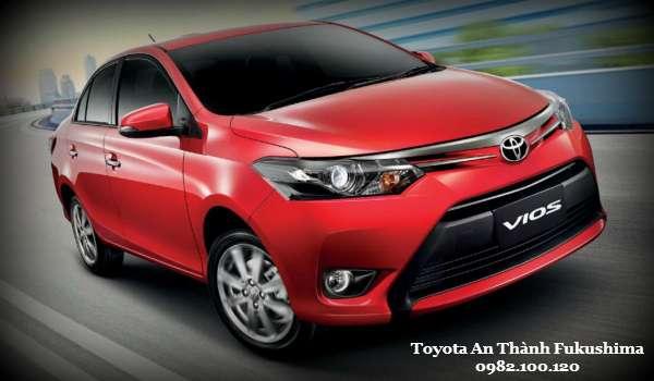 Toyota Vios 2016 Cam hung phong cach moi