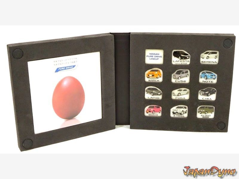 Nissan PURE drive pin collection *limited edition* Cube K13 Note