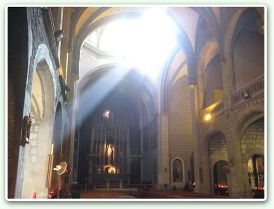 Església de Sant Jaume - Interior