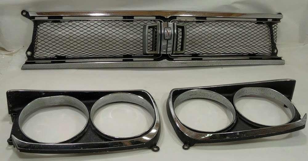 OEM Nissan Skyline GTR Hakosuka C10 KPGC10 kouki front Grill
