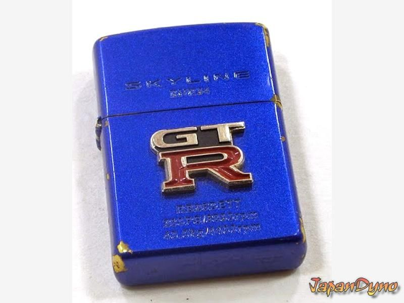 Zippo lighter Blue Limited NR Nissan Skyline GT-R R34 BNR34