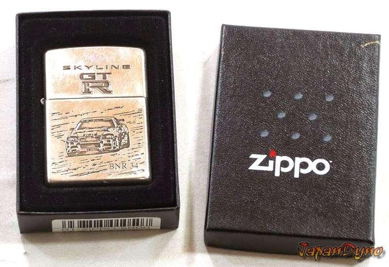 Zippo lighter Nissan Skyline GT-R R34 BNR34