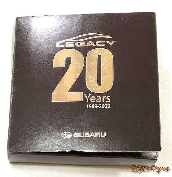 Subaru Legacy 20th anniversary *limited edition* 1989-2009 pin c
