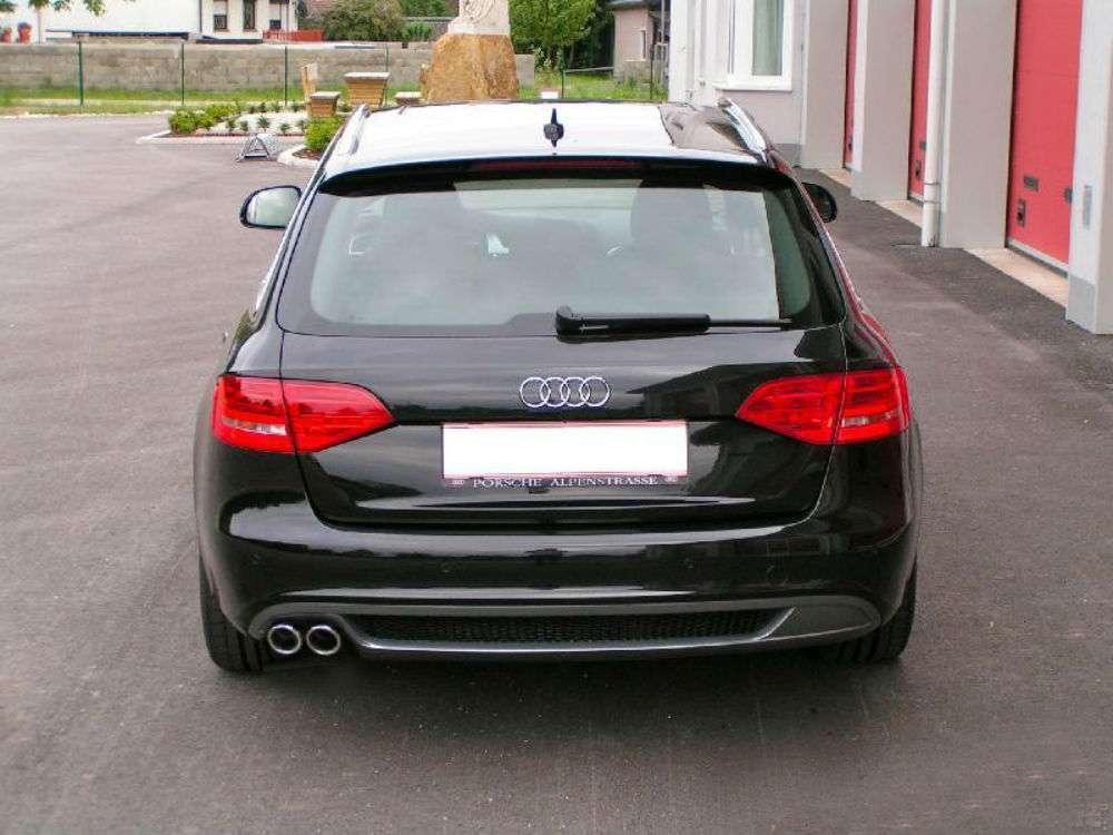 Audi a4 b8 avant berlina 2007 2011 diffusore posteriore for Lunghezza audi a4 berlina