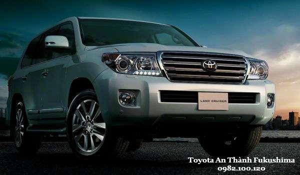 Toyota Land Cruiser 2016 Ve an tuong tu mot phong thai manh me