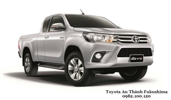 Toyota Hilux 2016 Tiep tuc trinh lang the he moi