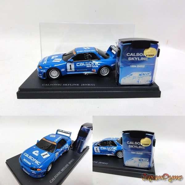 Zippo lighter+Die cast Nissan Skyline GT-R R32 BNR32