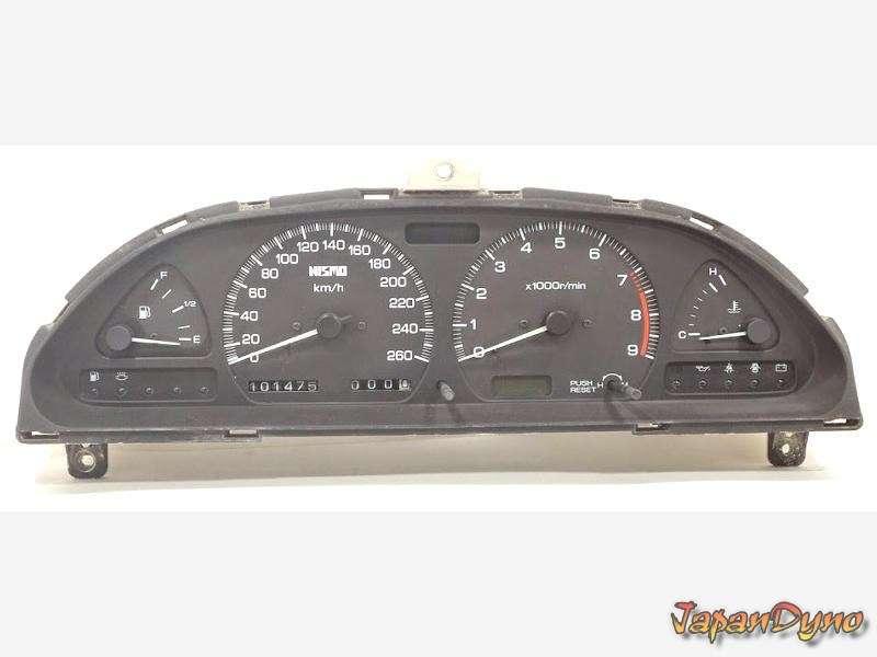 NISMO 260km/h Nissan Silvia gauge cluster 180sx S13 PS13 200sx 2