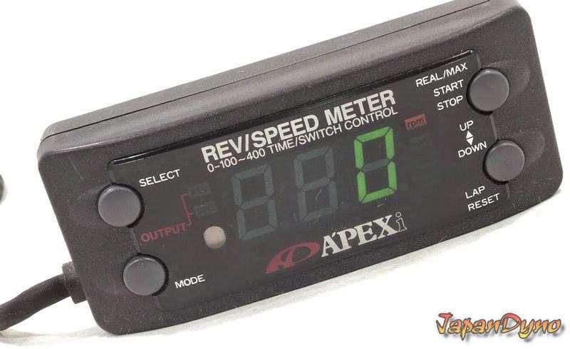 APEXI REV RSM Speed meter SLD JZA80 180sx R32 Impreza S14