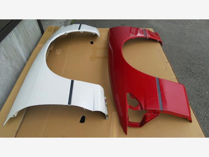 JDM OEM Nissan Silvia PS13 LH+RH front fender for SIL80/180sx