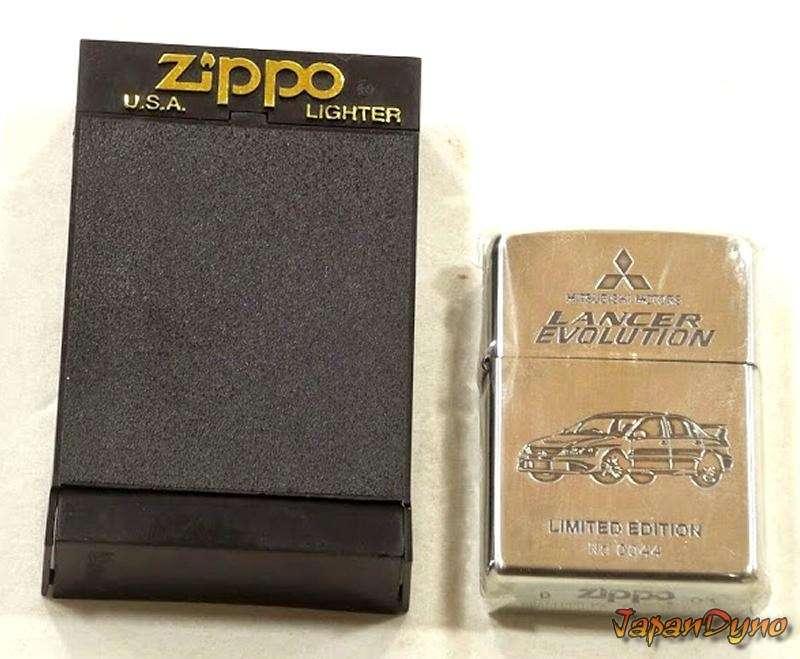 Zippo lighter Mitsubishi Lancer Evolution EVO 7-8-9 CTA9 4G63