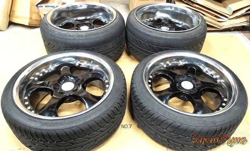 RAYS Pleasure 18x9J/12J 5x114 Wheels alloy rims RX7 R33 S14 S13