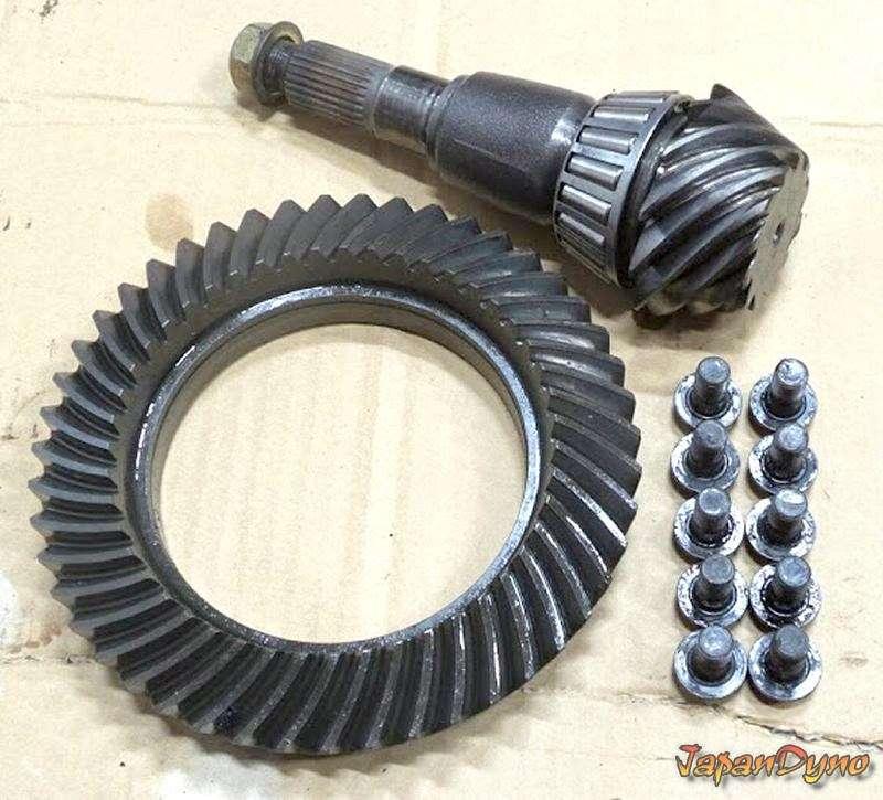 R200 Ring Gear+pinion 3.91 LSD Silvia S14 S13 180sx R34 R32 S15