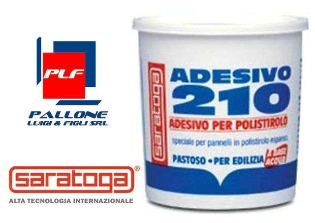 saratoga adesivo per polistirolo 210 colla conf 800