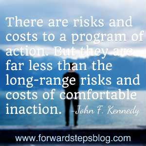Comfortable Inaction Quote Image