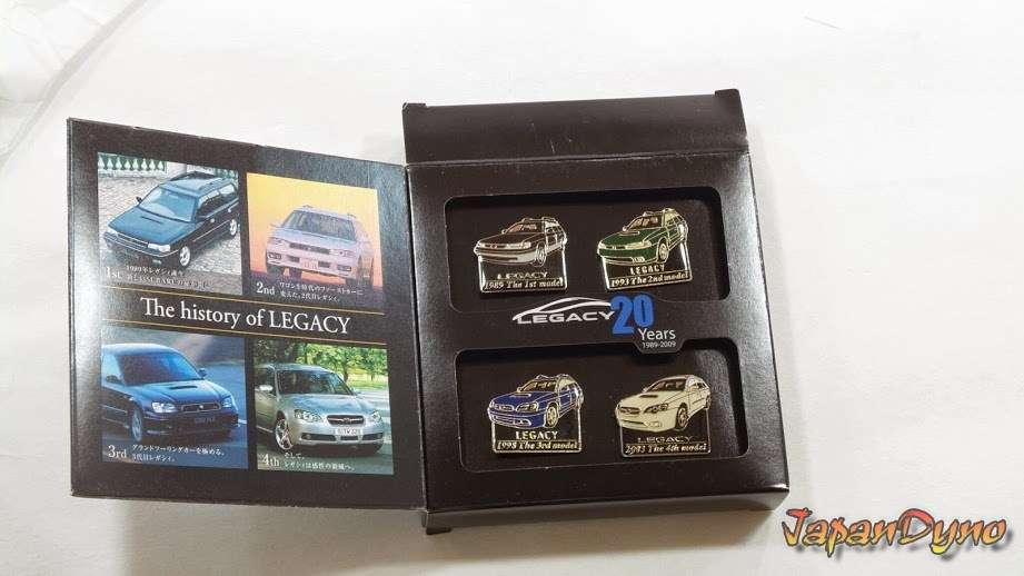 Subaru Legacy 20th anniversary *limited edition* 1989-2009 pins