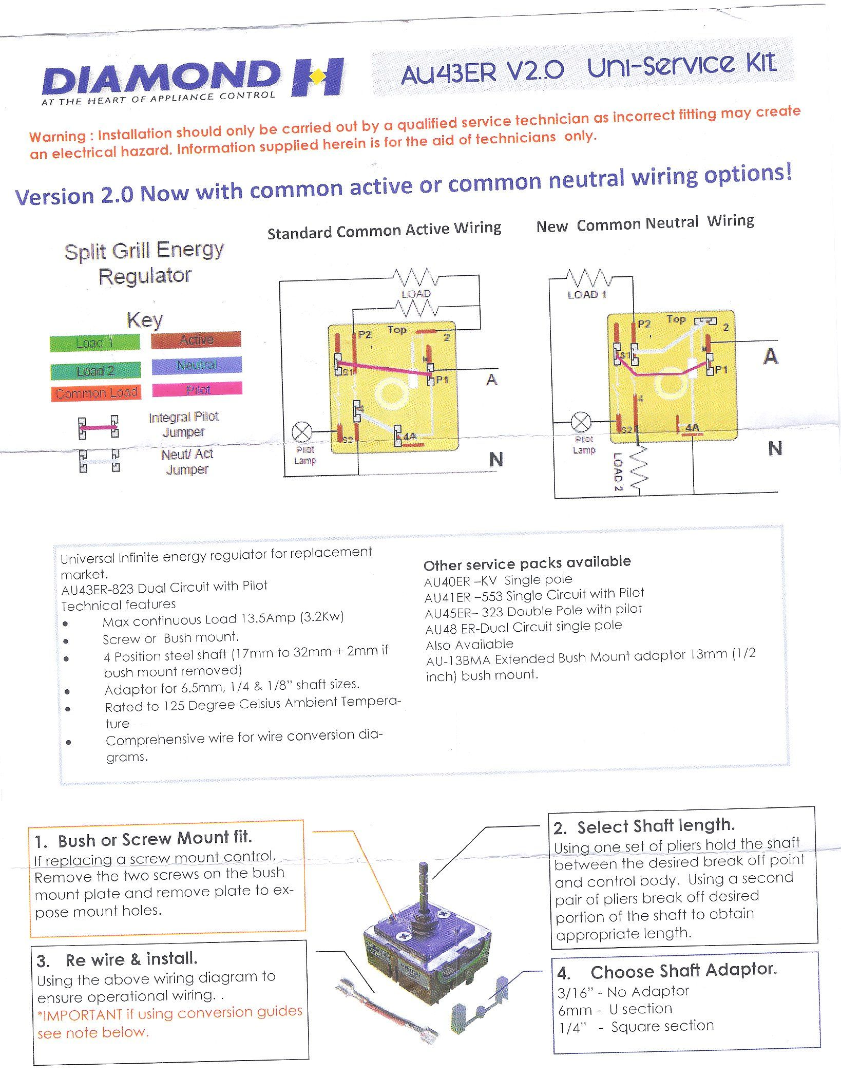 BpGVF4 universal dual grill simmerstat control part no 43er k, au43er simmerstat wiring diagram at webbmarketing.co