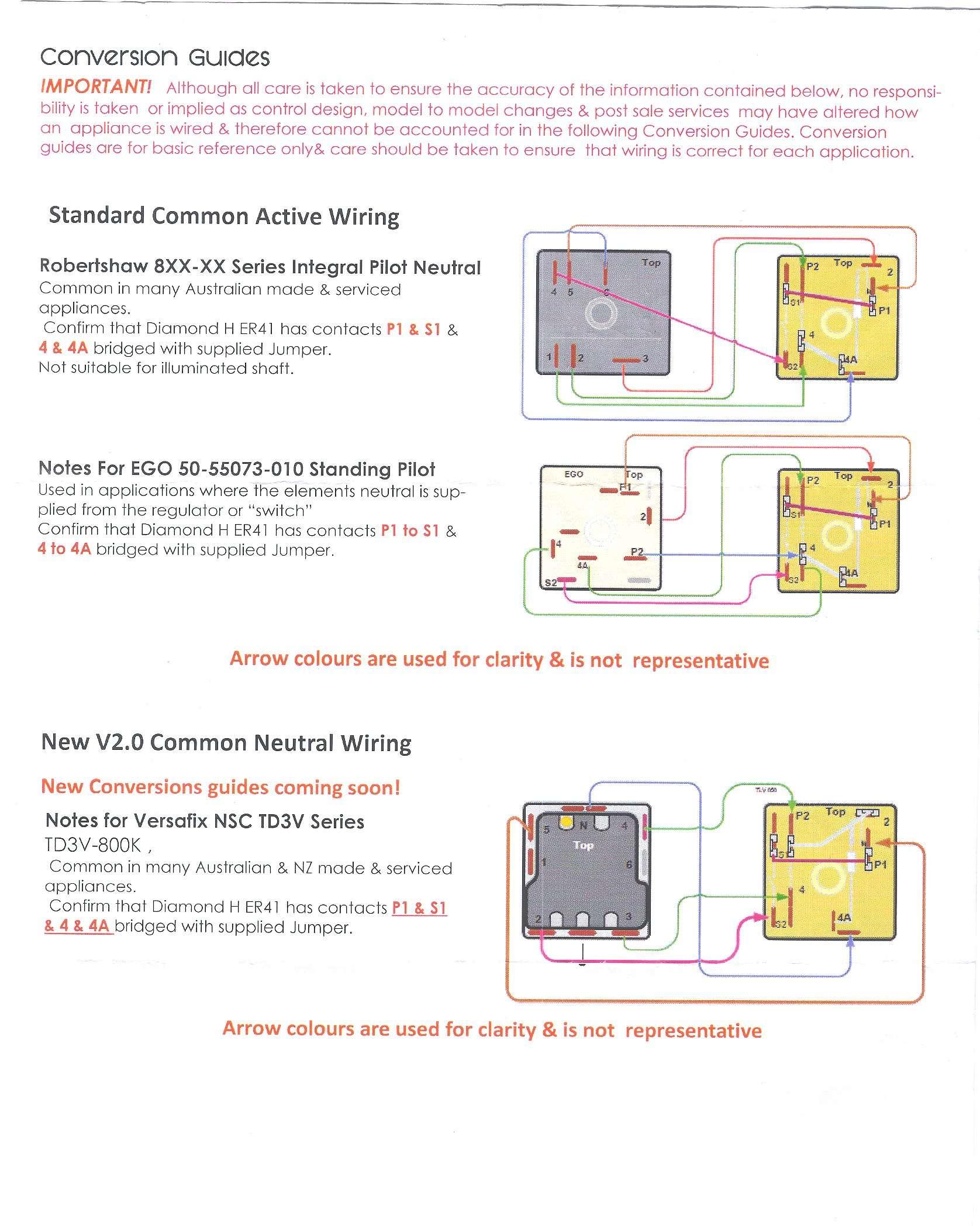 Ego Simmerstat Wiring Diagram Free Download Pilot Ke Controller Universal Dual Grill Control Part No 43er K Au43er States At