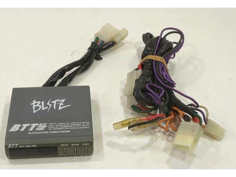 BLITZ turbo timer+harness S13 180sx Sr20det CA18det