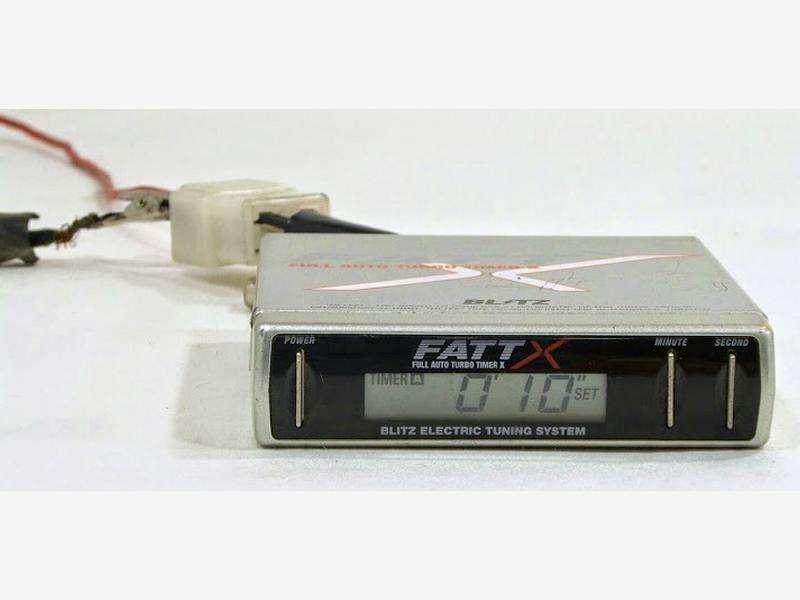 BLITZ FATT X Turbo timer+Volt Meter 370Z Skyline R35 Civic 180sx