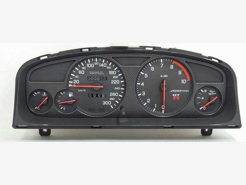 IMPUL GTR 300km/h speed meter R33 Skyline GTST BCNR33 ECR33