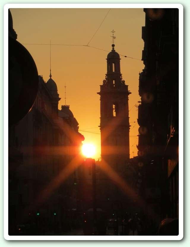 El sol i el campanar
