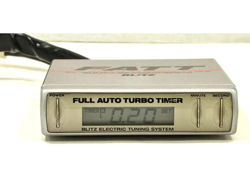 BLITZ FATT Turbo timer Celica Civic VR4 Legnum 3000GT 300ZX 350Z